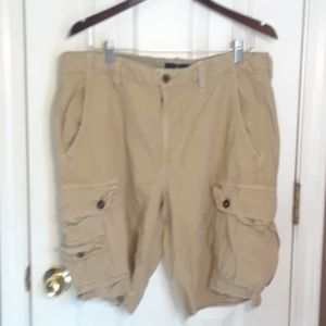 34 AMERICAN EAGLE CARGO MENS SHORTS NWOT Distress